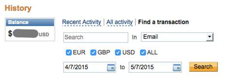 Find My Past Address Search How To Find And Search Your Paypal History In The New Paypal Interface The