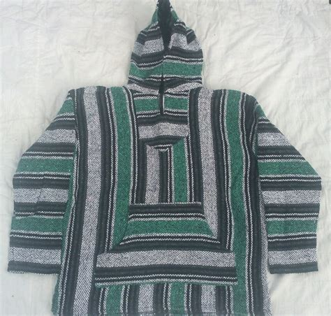 mens rug baja rug pullover hoodie surfer s large ebay