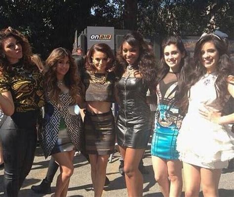 x factor group fifth harmony attempts to make a name for fifth harmony covering lorde s royals coup de main
