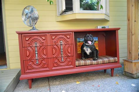 dresser dog bed 8 ways to decorate with reclaimed treasures cushion