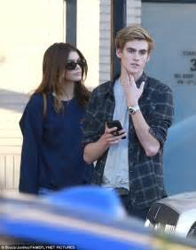 kaia gerber icons presley and kaia gerber enjoy a stroll in beverly hills