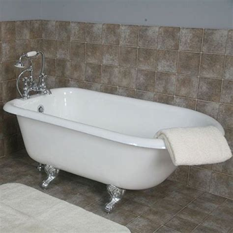 Cast Bathtub by Cast Iron Rolled Tub Rubbed Bronze