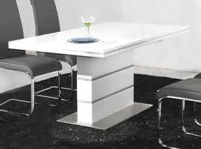 White Gloss Dining Room Table Heartlands Dolores Dining Table In High Gloss White Blue Interiors