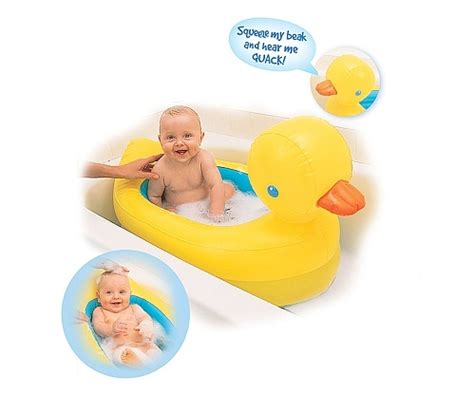 munchkin rubber duck bathtub munchkin white hot inflatable safety tub bath tubs