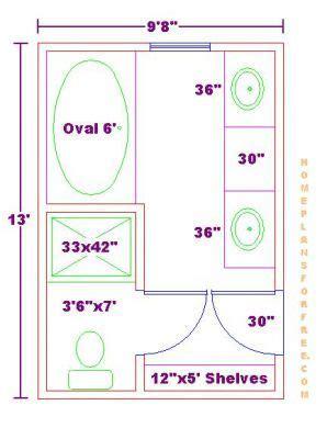 10 x 11 master bath floor plans bathroom and closet floor plans bathroom plans free