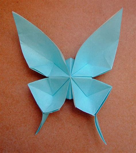 Origami Paper Design - 40 delightful origami designs paper design blue