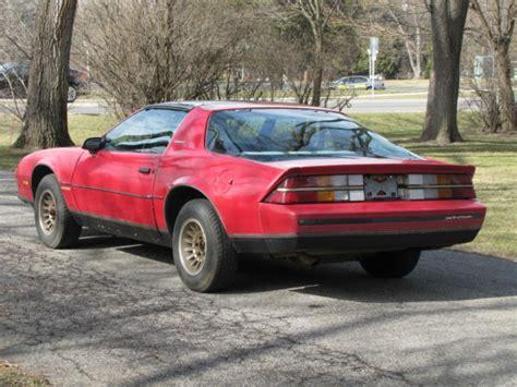 camaro berlinetta 1984 1984 camaro berlinetta v6 auto t tops rust free southern