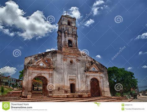 Historic Colonial House Plans church of santa ana in trinidad cuba stock photos