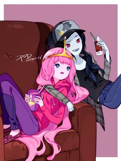 anime adventure adventure time marceline abadeer princess bonnibel