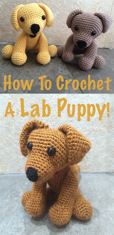 how to my labrador crochet labrador how to make your own the labrador site