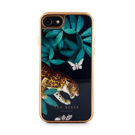 ted baker mannii premium tempered glass case  iphone   houdini navy proporta