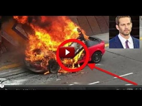 imagenes reales de paul walker muerto quot video quot momento exacto del accidente de paul walker