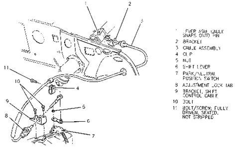 transmission control 2001 pontiac bonneville free book repair manuals repair guides automatic transaxle adjustments autozone com