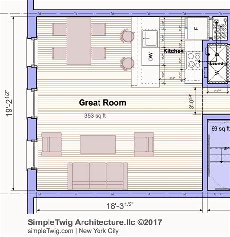 ultimate townhouse layout architects blog