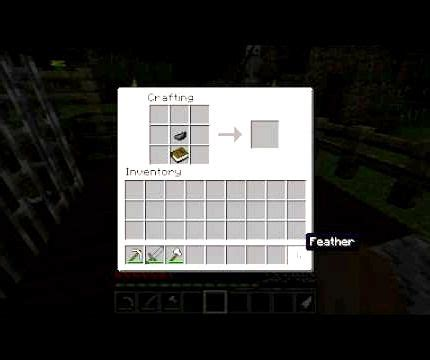 Crafting Recipe For Paper - quill and paper minecraft recipe