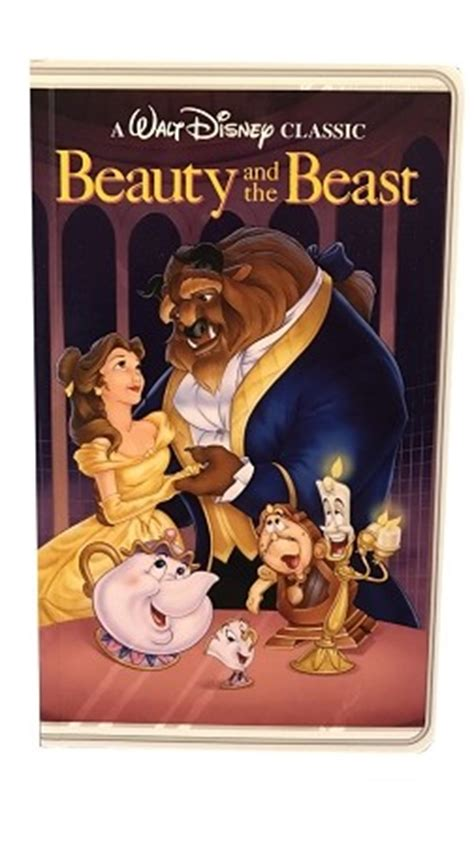 Disney Notebook   VHS Tape Illusion   Beauty and the Beast