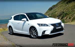lexus ct 200h f sport review performancedrive