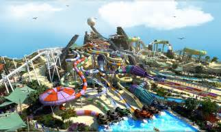 Yas Island Theme Park Green Certified Yas Waterworld Park Opens In Abu