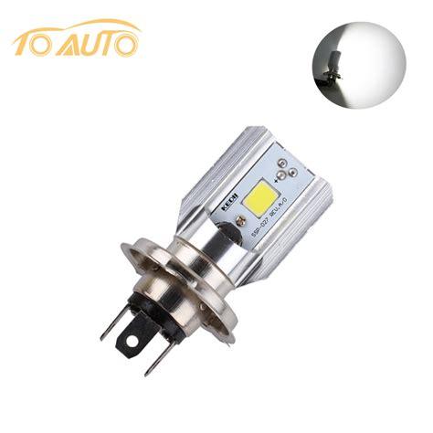 H4 Led Motorcycle Headlight Bulbs Cob Led 12 36v 1000lm H Led Light Bulbs For Motorcycles