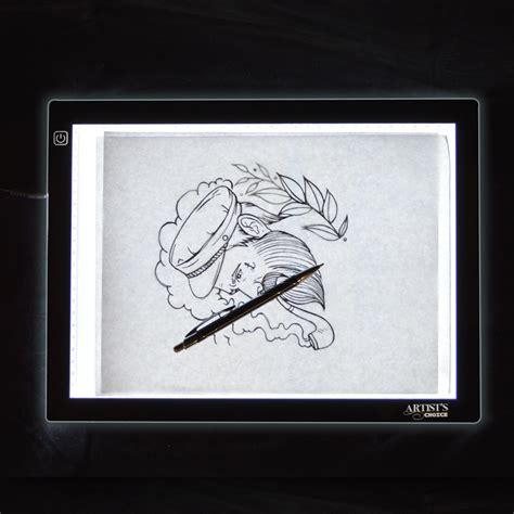 tattoo light box app artist s choice 12 quot x 8 5 quot ultra thin led tattoo tracing