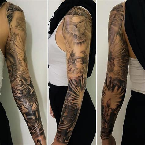 40 attractive sleeve tattoos for tattooblend womens