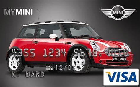 mini cooper customizable credit cards auto news motor