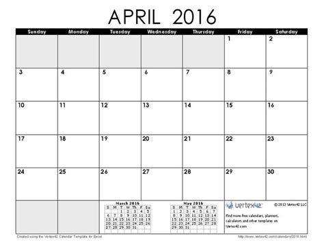 Usable Calendar Template by 1000 Ideas About Monthly Calendar Template On
