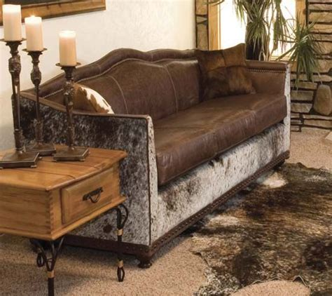 How To Turn Cowhide Into Leather - wundersch 246 ne ledercouch western style