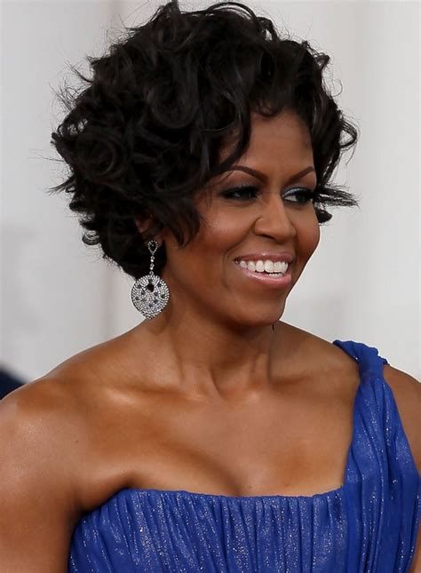 What Is With Michelle Obama Hair Style | michelle obama hairstyles celebrity latest hairstyles 2016