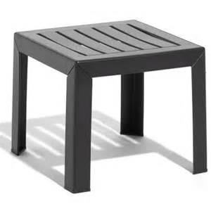 Table Jardin Plastique Blanc