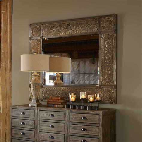 Uttermost Mirros by Uttermost Harvest Serenity 50 X 60 Chagne Gold Wall