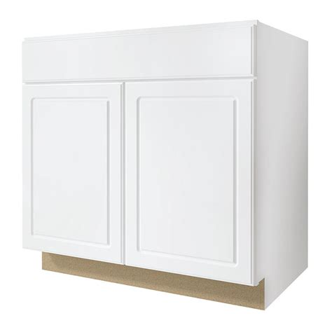 concord kitchen cabinets shop kitchen classics concord 33 in w x 35 in h x 23 75 in d finished concord sink base cabinet