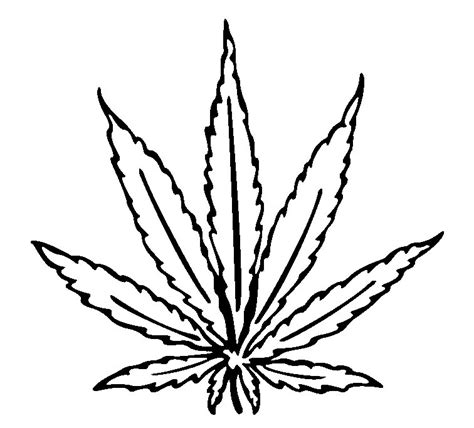 weed leaf coloring page pot leaf coloring pages clipartsco weed leaf coloring page