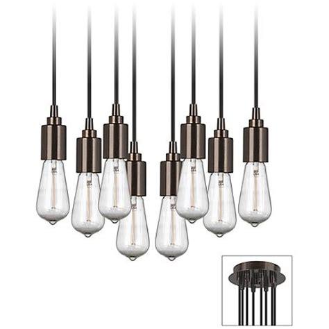 Multi Bulb Pendant Light Europa 1910 Edison Bulb Bronze Multi Light Pendant X9874 3f797 Www Lsplus