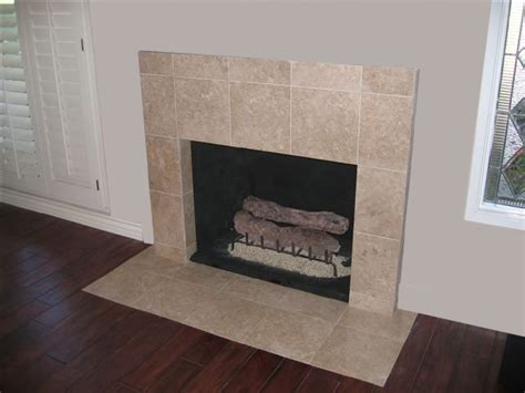 San Diego Tile Fireplace Photos Custom Masonry And Travertine Fireplace Hearth