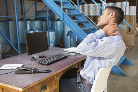 shoulder pain from sitting at desk calling all desk jockeys stretching to ease neck and
