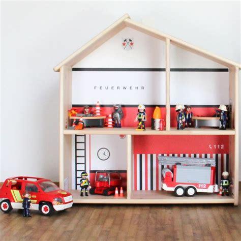 Aufkleber Ikea Flisat by Dekorationsfolie Feuerwache F 252 R Ikea Flisat Puppenhaus