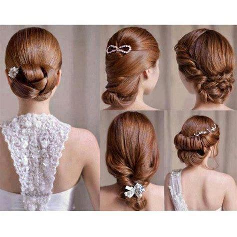 Tutorial Rambut Wedding   gaya rambut romantis untuk resepsi pernikahan hairdo and