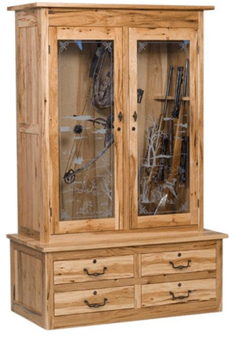 image gallery homemade cabinets gun cabinet plans for a wood store