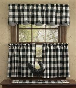 Black And White Checkered Kitchen Curtains 1000 Images About Buffalo Check Curtains On Country Tablecloths And Buffalo