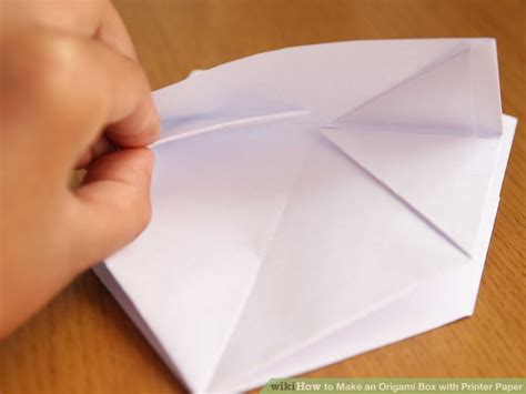 Origami With Printer Paper - how to make an origami box with printer paper 12 steps