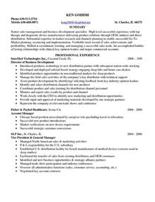 Entry Level Sle Resume by Pharmaceutical Sales Letter Sle And Entry Level On