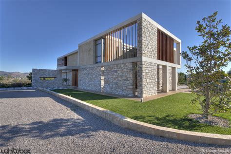Room Building Software stone house in anavissos whitebox architects archdaily