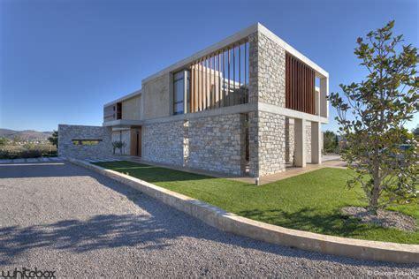 stone houses stone house in anavissos whitebox architects archdaily