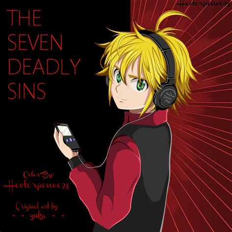 the seven deadly hectorponce98 hector ponce deviantart