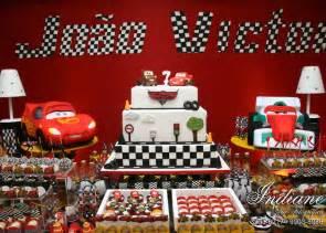 Race Car Curtains Pixar Cars Birthday Party Novo Mundo Web
