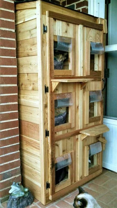 outdoor cat houses for multiple cats the 25 best ideas about outdoor cat shelter on pinterest feral cat house outdoor