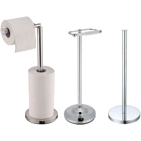 Bathroom Toilet Paper Storage Toilet Paper Holder Stainless Steel Bathroom Floor Standing Tissue Roll Storage Ebay
