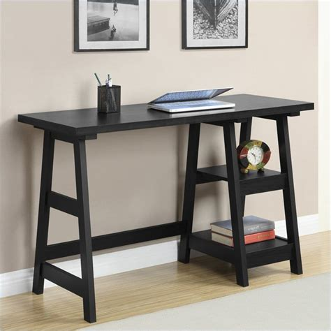 convenience concepts designs2go trestle desk convenience concepts convenience concepts designs2go