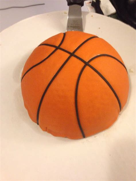 basketball kuchen basketball cake fondant my cake s i ve made